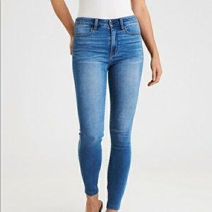 American Eagle High Rise Jeggings Jeans Skinny AEO